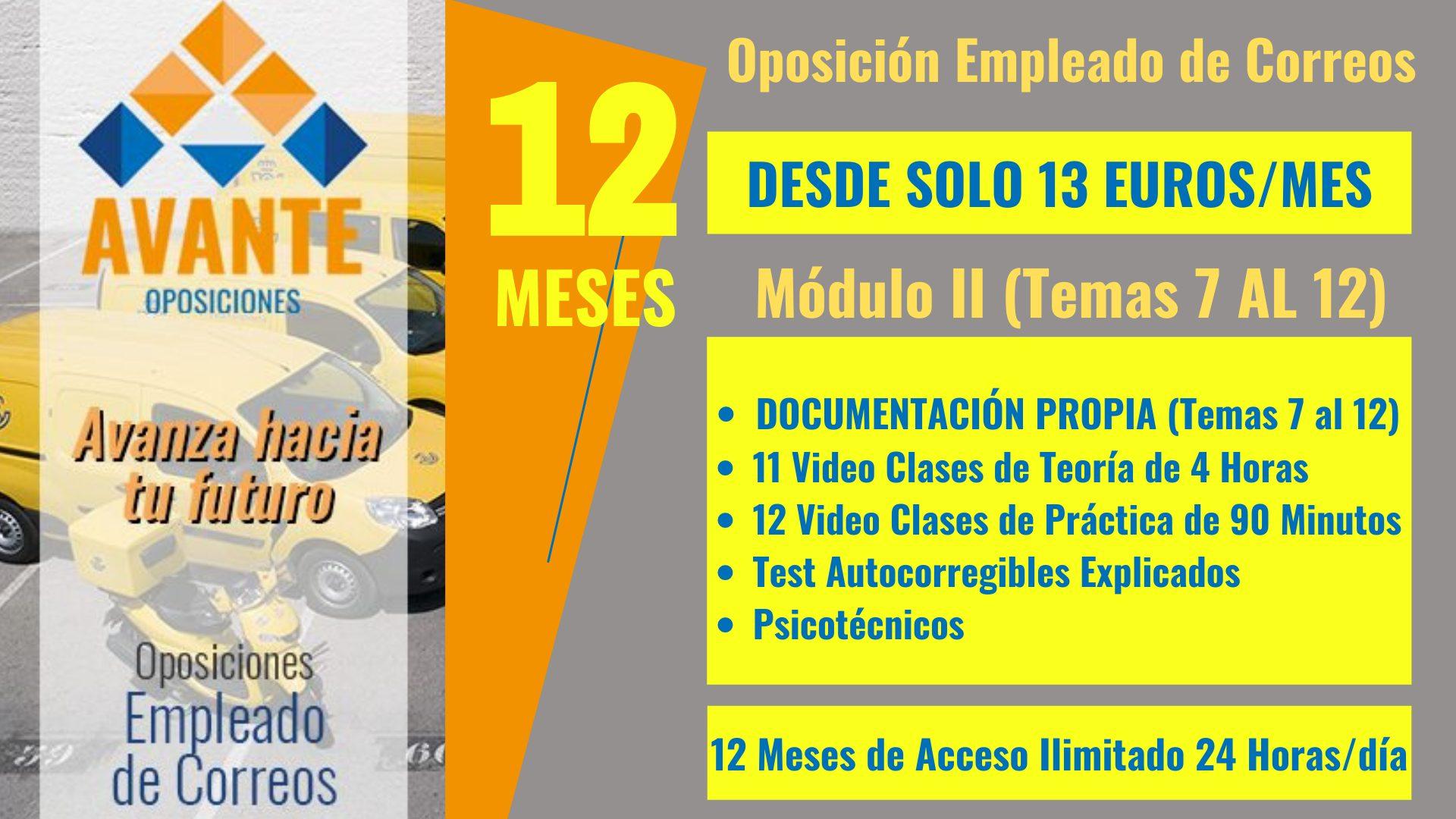 CORREOS modulo 2