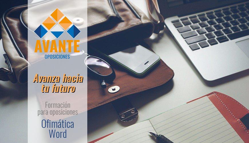 Cursos_Avante_Oposiciones_Ofimatica_Word