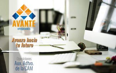 Aux. Administrativo de la CAM (PROXIMAMENTE)