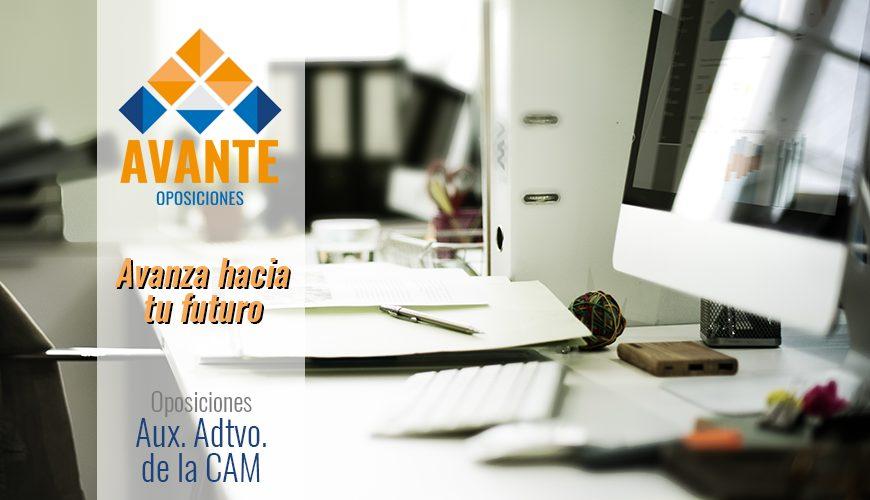 Cursos_Online_Avante_Oposiciones_Aux_Administrativo_CAM