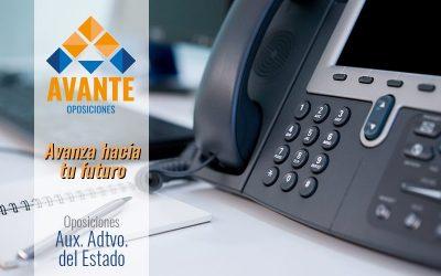 CURSO PLANTILLA Aux. Administrativo del Estado (PROXIMAMENTE)CopiarCopiar