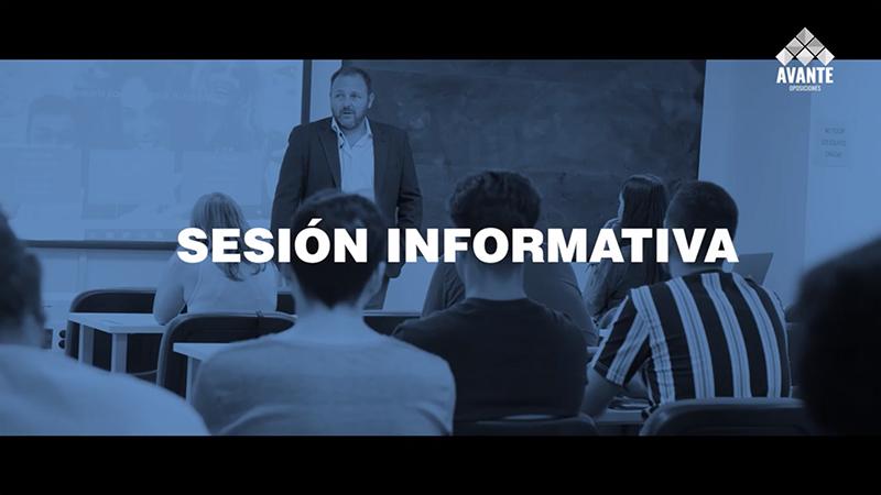 Teleformación - Sesión informativa de formación online Avante